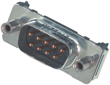 Provertha TMC Series, 25 Way SMT PCB D-sub Connector Socket, 2.76mm Pitch