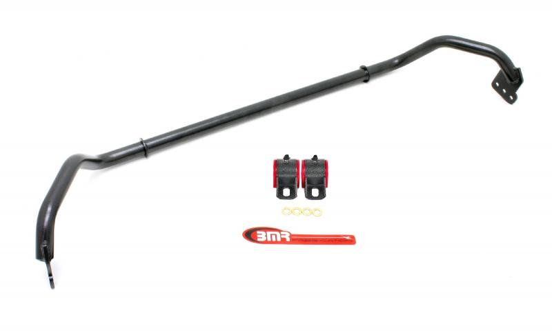 BMR Suspension SB016H Sway Bar Kit With Bushings, Front, Adjustable, Hollow 29mm Black Chevrolet Camaro 10-12