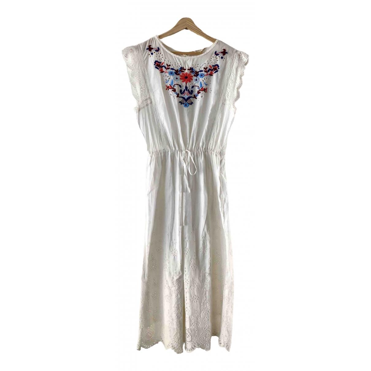 Rebecca Taylor \N Kleid in  Weiss Baumwolle