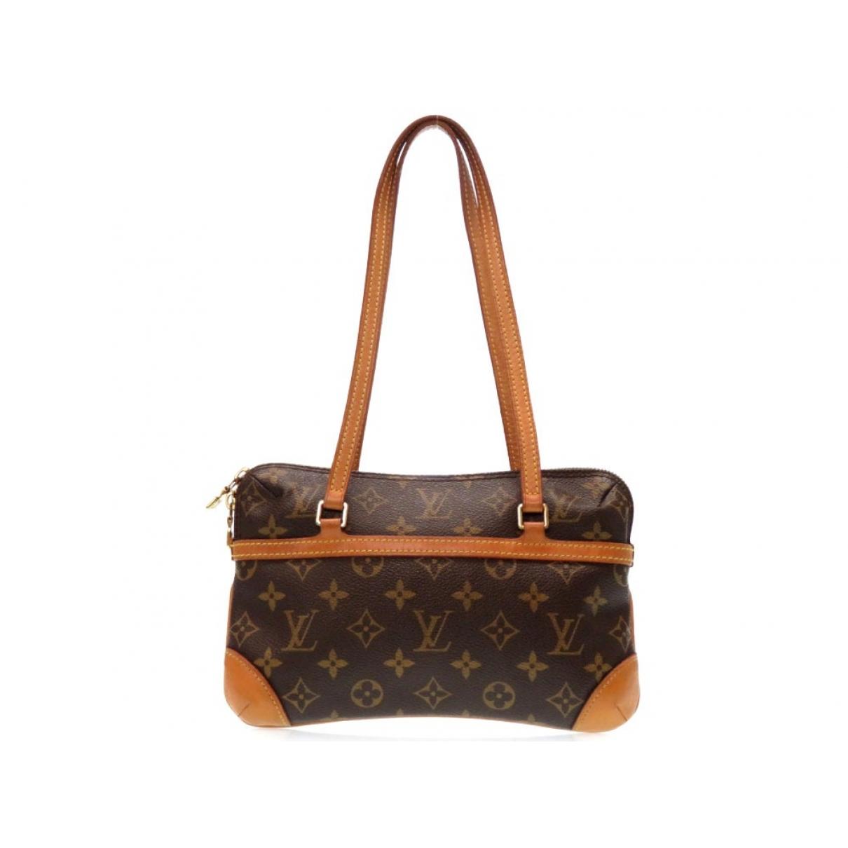 Louis Vuitton Coussin Brown Cloth handbag for Women \N