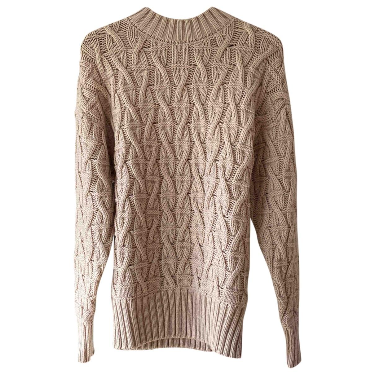 Toteme - Pull   pour femme en laine - beige