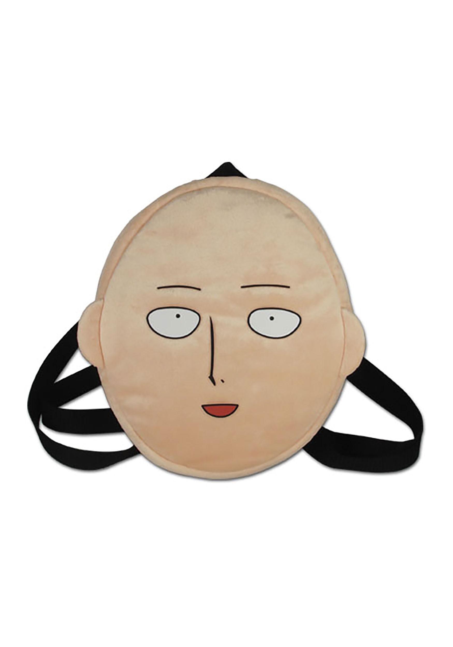 Saitama Face One Punch Man Plush Bag