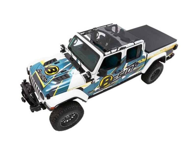 Bestop 52413-11 Sun Extended Safari Style Bikini Top Jeep Gladiator 2020