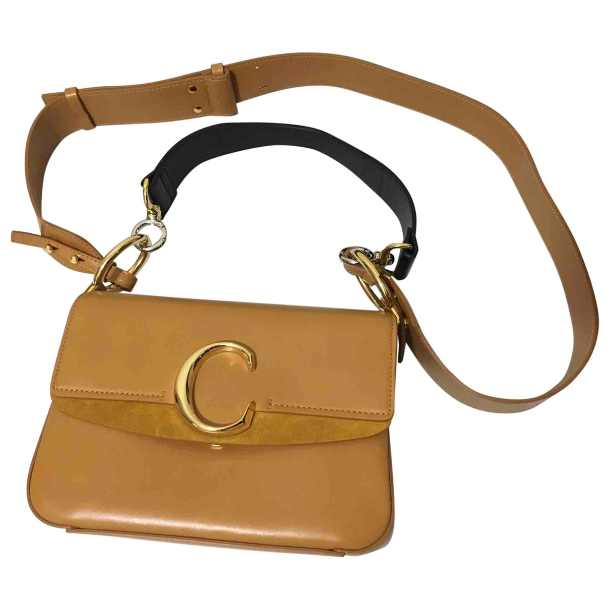 Chloé C Orange Leather handbag for Women \N