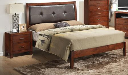 G1200ATBN 2 Piece Set Twin Bed and Nightstand  in