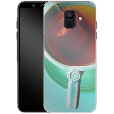 Samsung Galaxy A6 Silikon Handyhuelle - Morning von Joy StClaire