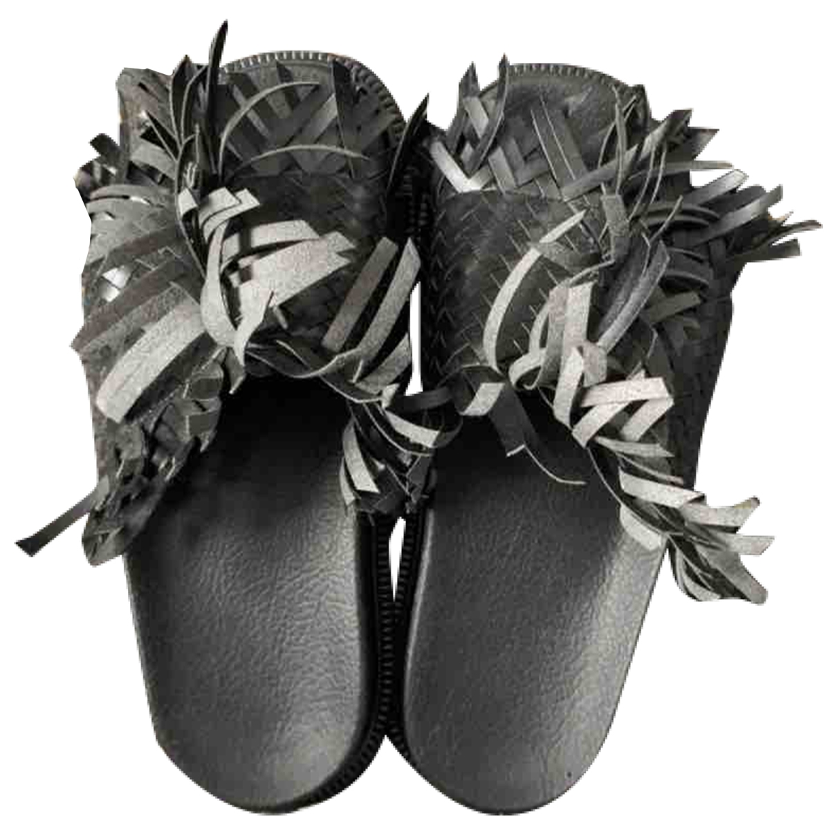Mm6 \N Sandalen in  Schwarz Leder
