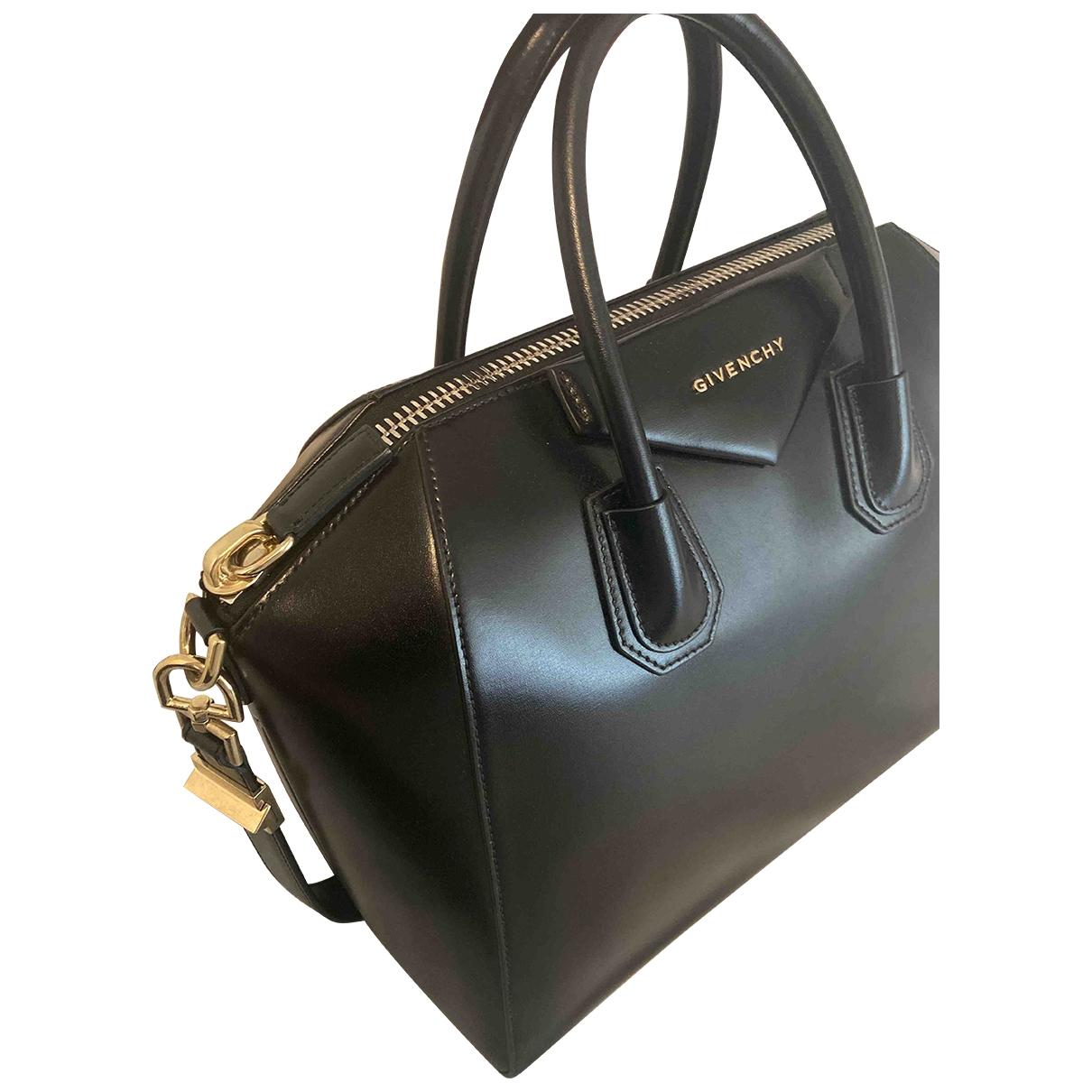 Givenchy Antigona Black Patent leather handbag for Women \N