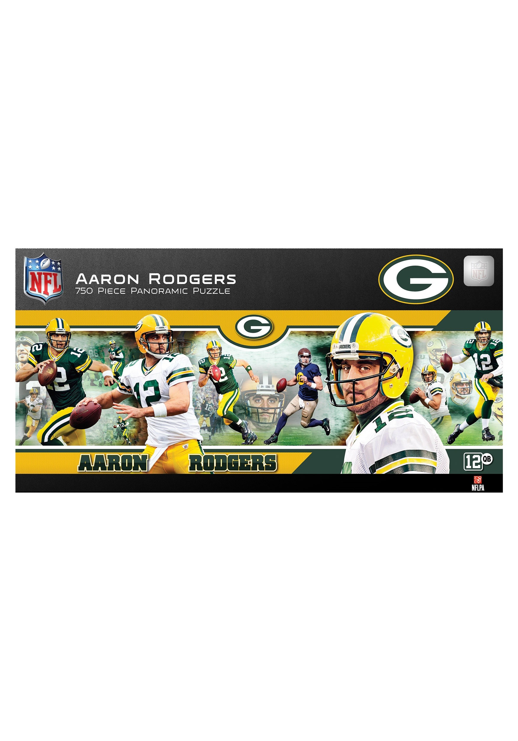 NFL Green Bay Packers Aaron Rodgers 750 Piece Puzzle