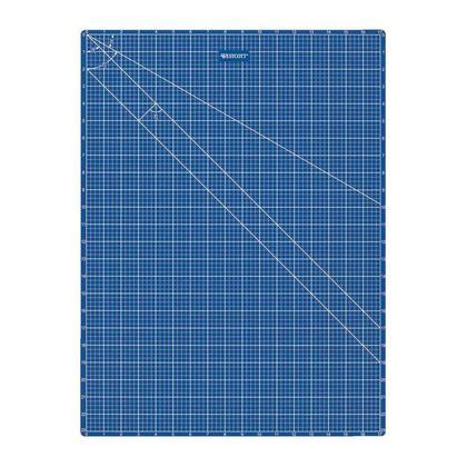 Westcott@ Cutting Mat, double side blue, 18