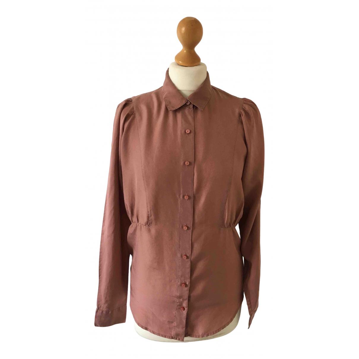 Comptoir Des Cotonniers \N Pink Silk  top for Women 34 FR