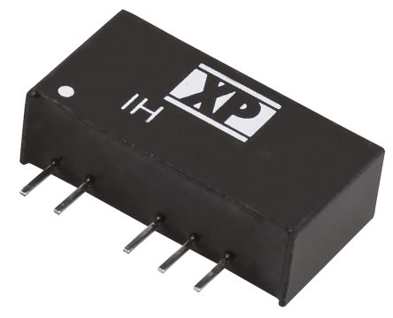 XP Power IH 2W Isolated DC-DC Converter Through Hole, Voltage in 10.8 → 13.2 V dc, Voltage out ±5V dc