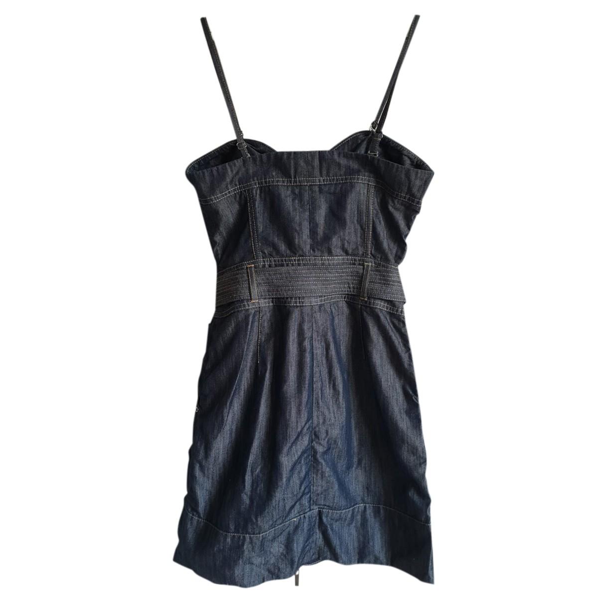Karen Millen \N Kleid in  Blau Baumwolle