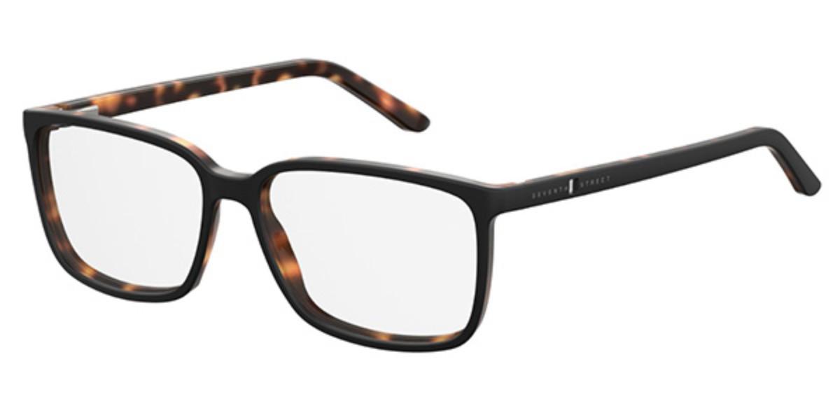 Seventh Street 7A012 WR7 Men's Glasses Black Size 57 - Free Lenses - HSA/FSA Insurance - Blue Light Block Available