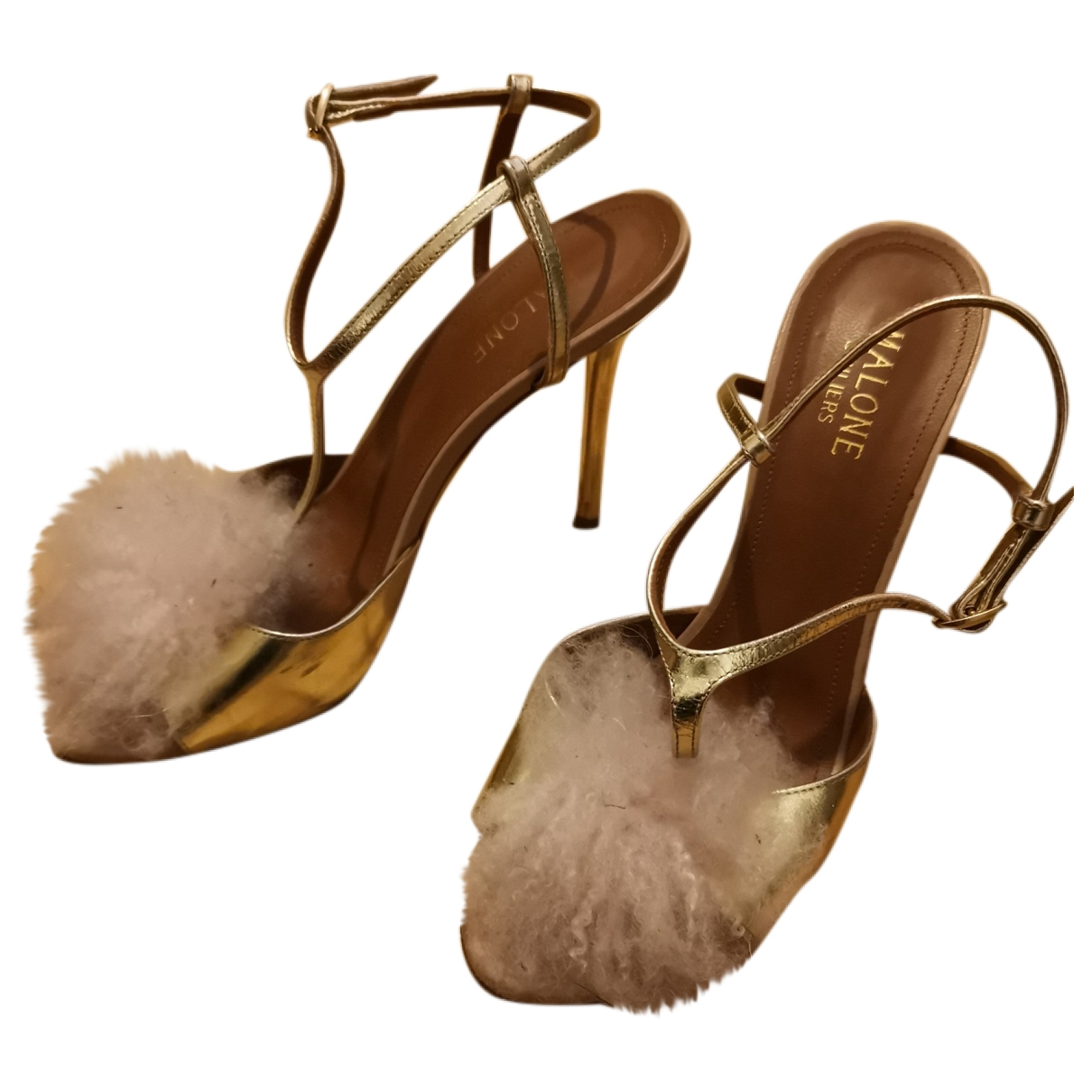 Sandalias de Cuero Malone Souliers