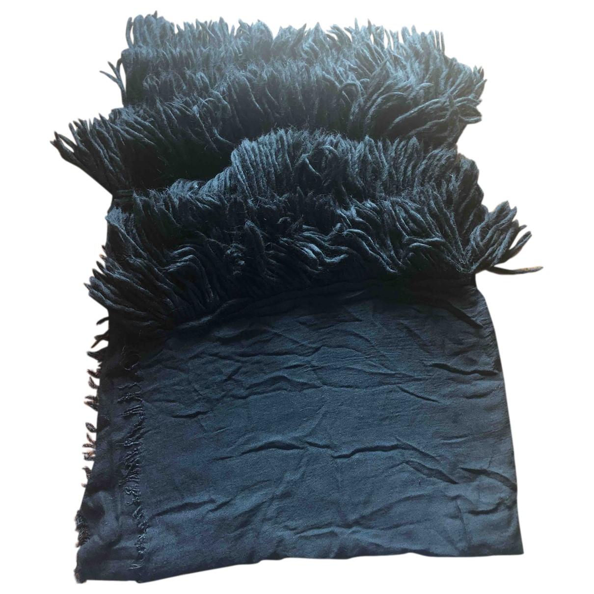 - Foulard   pour femme en coton - noir