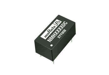Murata Power Solutions Through Hole 2W Isolated DC-DC Converter, Vin 10.8 → 13.2 V dc, I/O isolation 1kV