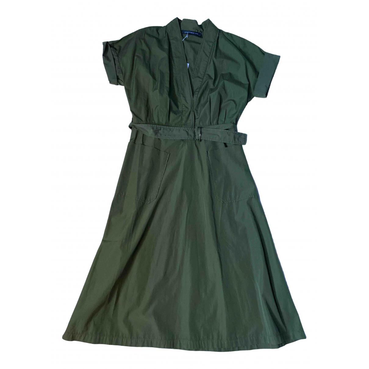 Department 5 \N Kleid in  Khaki Baumwolle