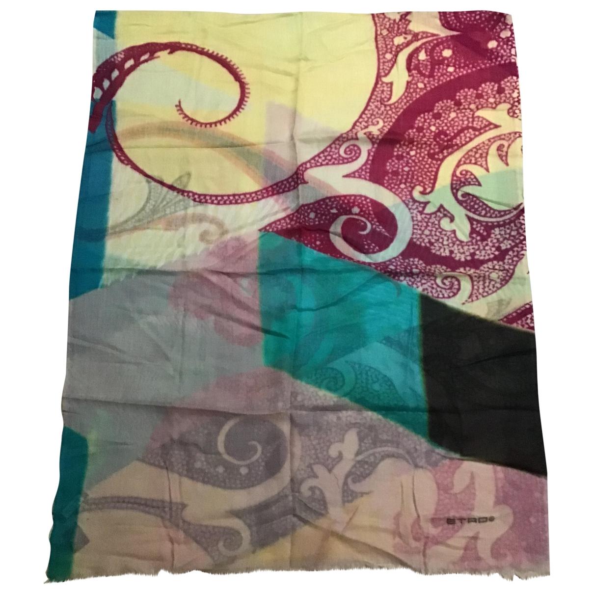 Etro \N Multicolour Cashmere scarf for Women \N