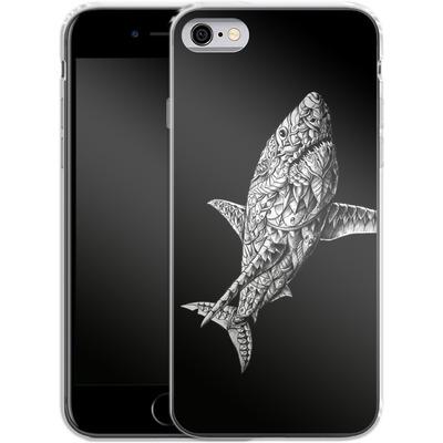 Apple iPhone 6 Silikon Handyhuelle - Great White von BIOWORKZ
