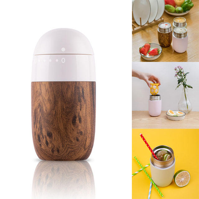Wenwenyu EGG 380ml Insulation Braised Beaker 6h Thermos Vacuum Cup Lunch Food Container from xiaomi youpin