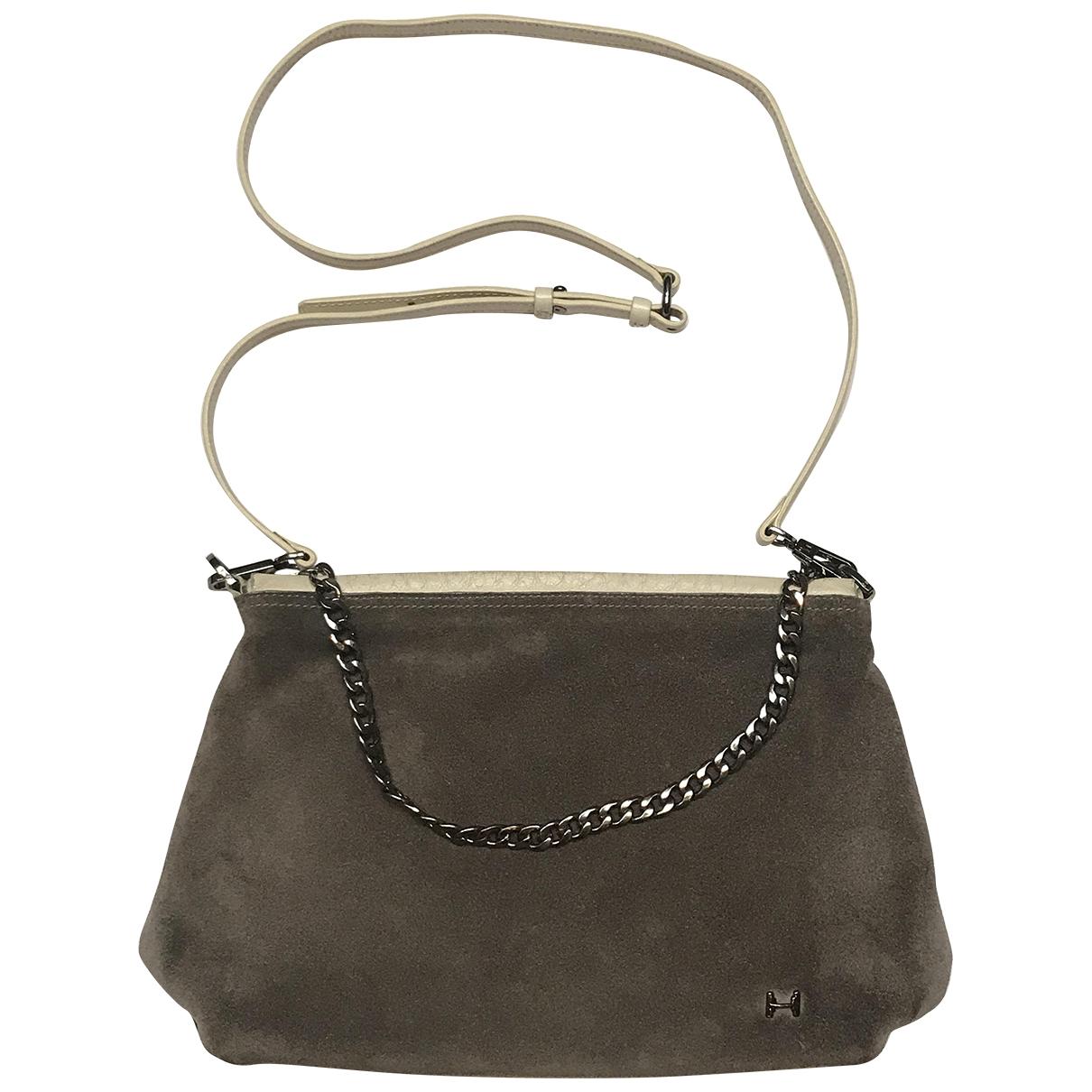 Halston Heritage \N Brown Leather handbag for Women \N