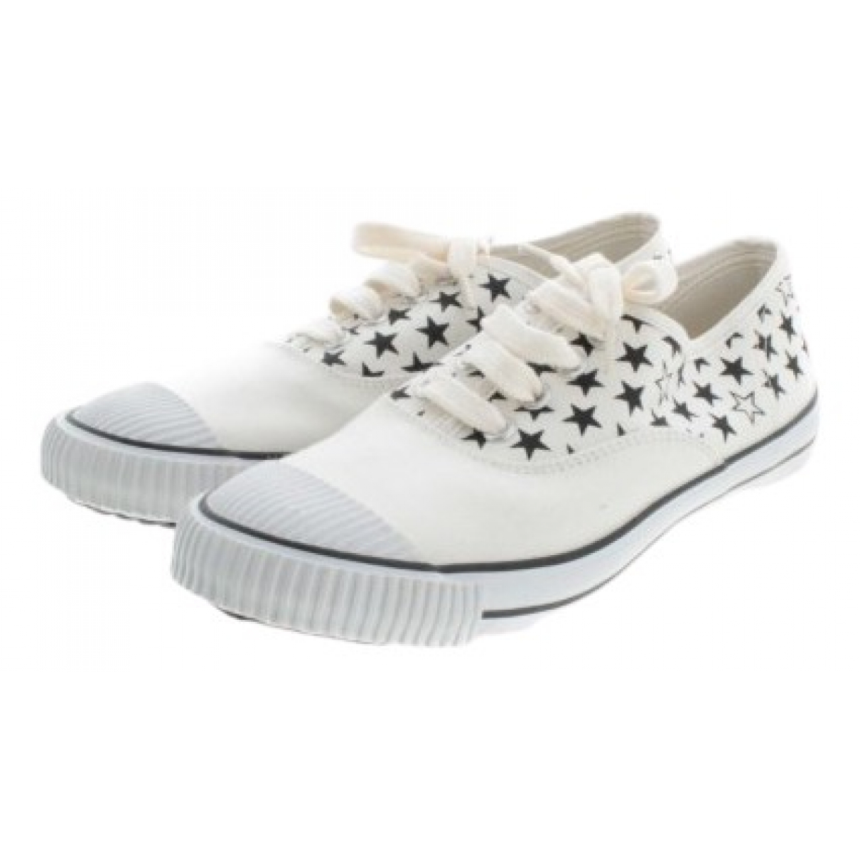 Comme Des Garcons \N Sneakers in  Weiss Leder