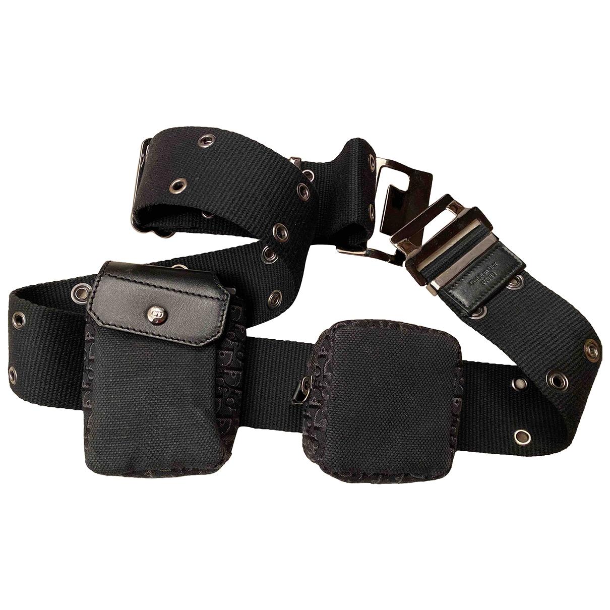 Dior \N Black Cloth belt for Women L International
