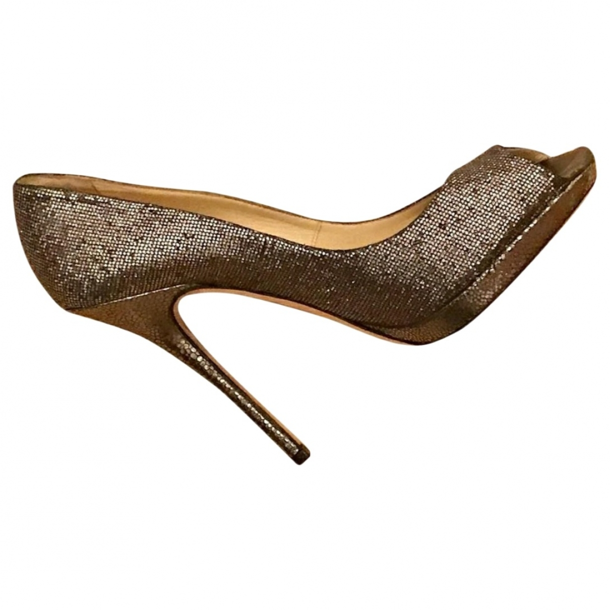 Jimmy Choo \N Pumps in  Silber Leder