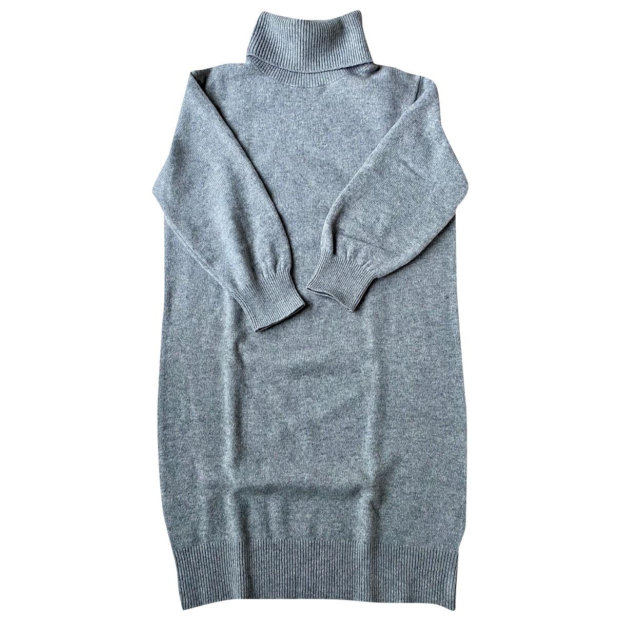 Uniqlo - Pull   pour femme en laine - ecru