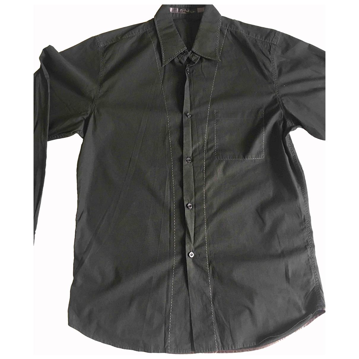 Paul Smith N Black Cotton Shirts for Men M International