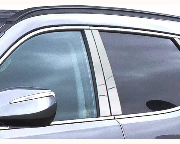 Quality Automotive Accessories 4-Piece Pillar Post Trim Kit Hyundai Santa Fe 2013