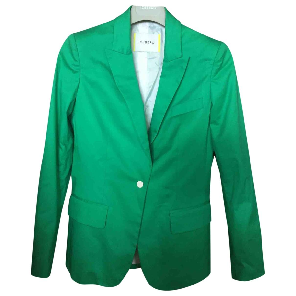 Iceberg \N Green jacket for Women 40 FR