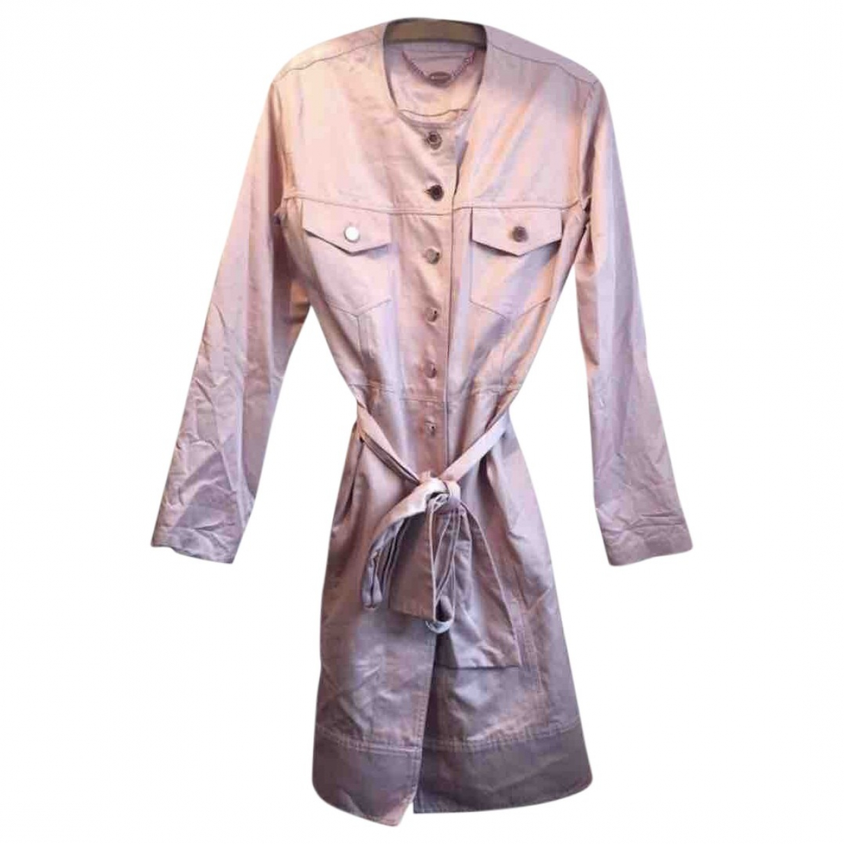 Mulberry \N Pink Cotton jacket for Women 12 UK