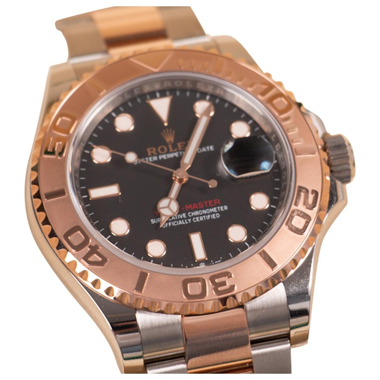 Rolex Yacht-Master Uhr in  Gold Gold und Stahl