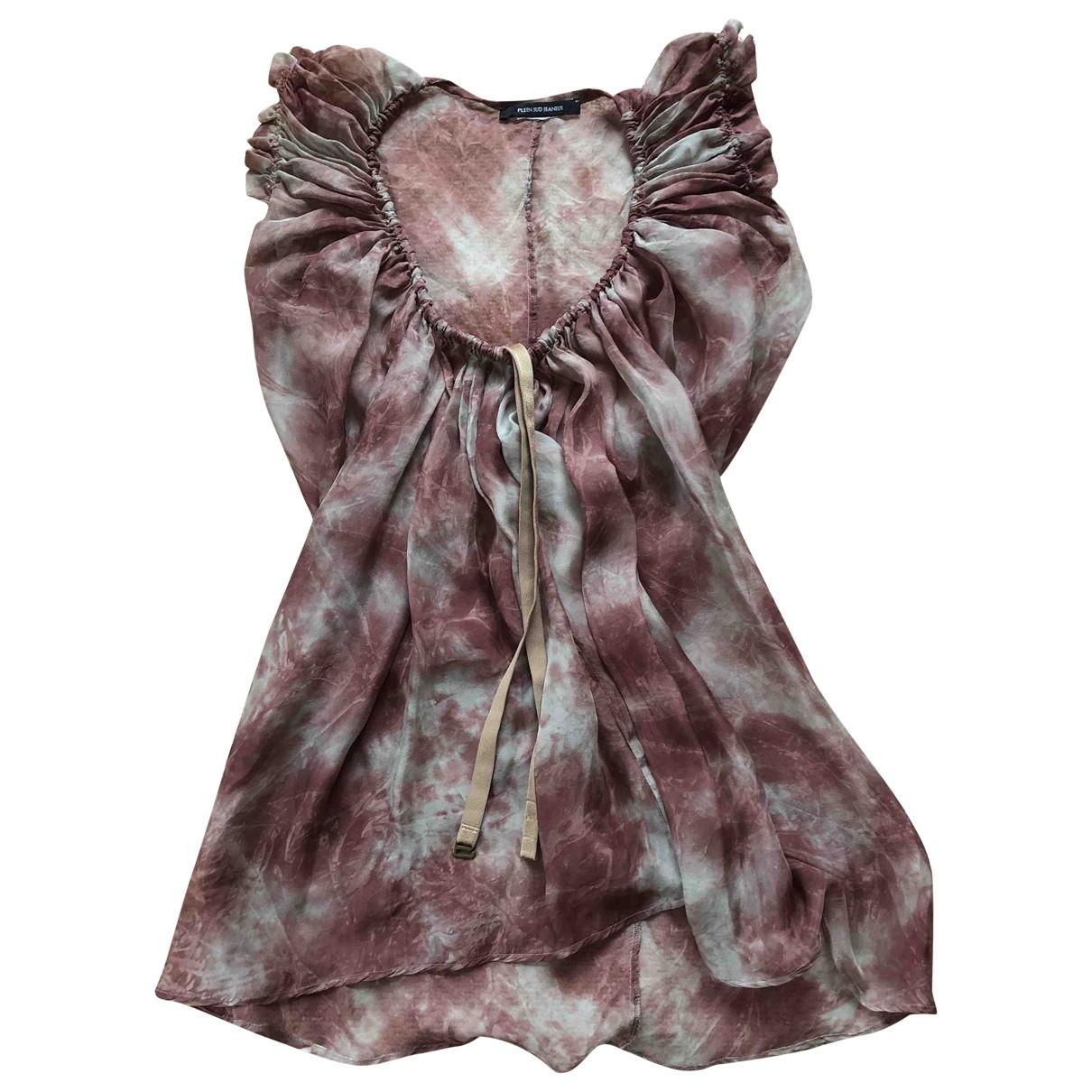 Plein Sud \N Burgundy Silk  top for Women 42 IT