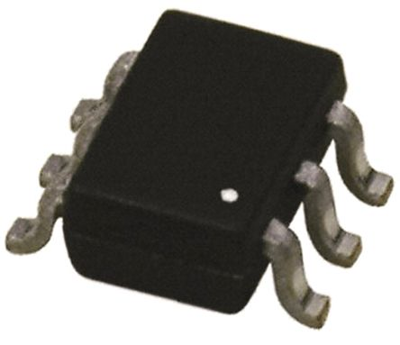 DiodesZetex Diodes Inc DT1446-04S-7, 10-Element Uni-Directional TVS Diode Array, 0.2W, 6-Pin SOT-363 (SC-88) (100)
