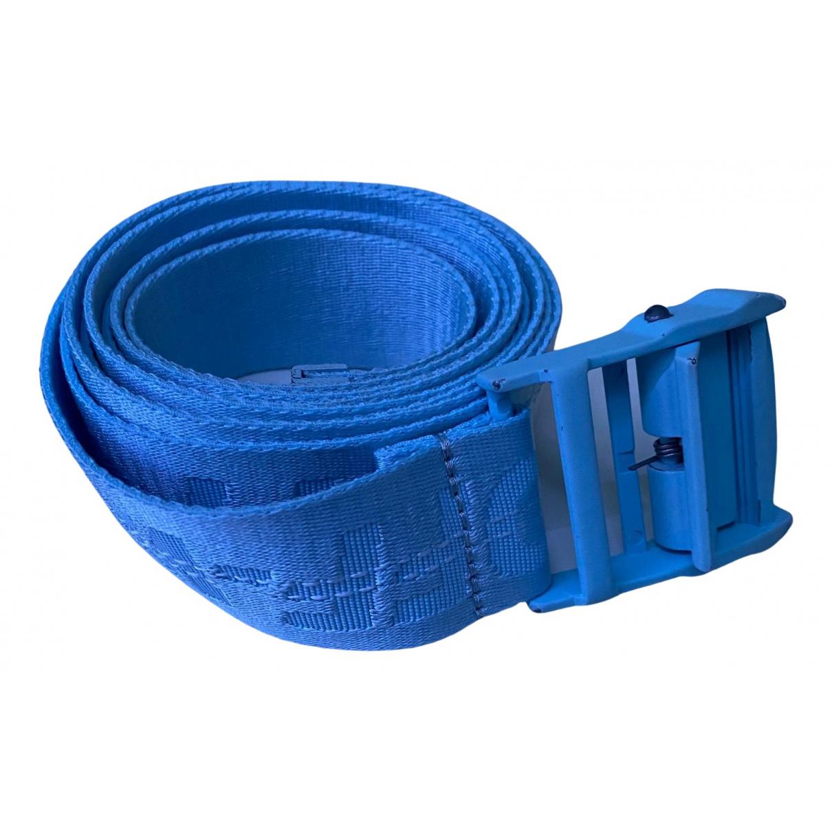 Off-white N Blue belt for Women L International