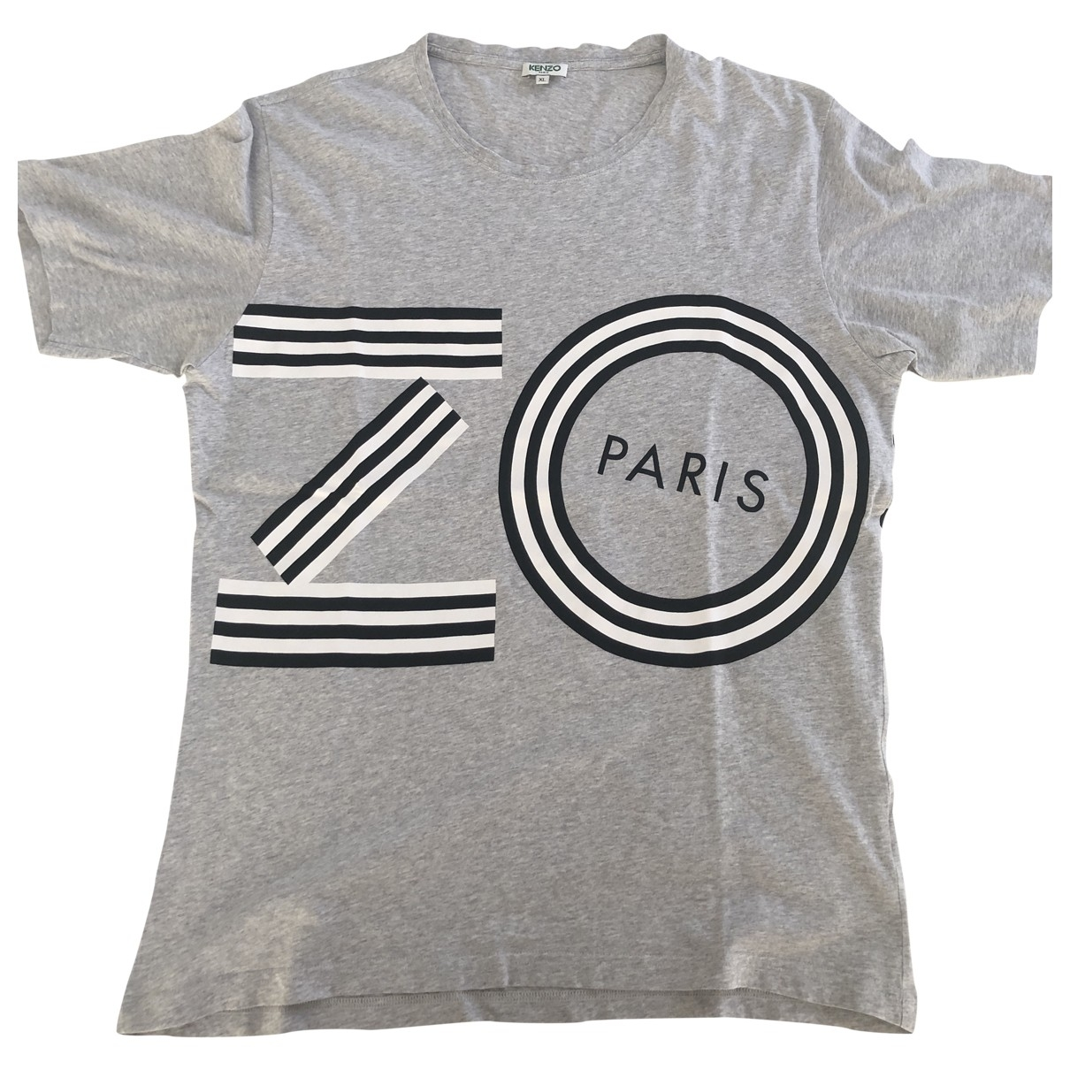 Kenzo \N Grey Cotton T-shirts for Men XL International