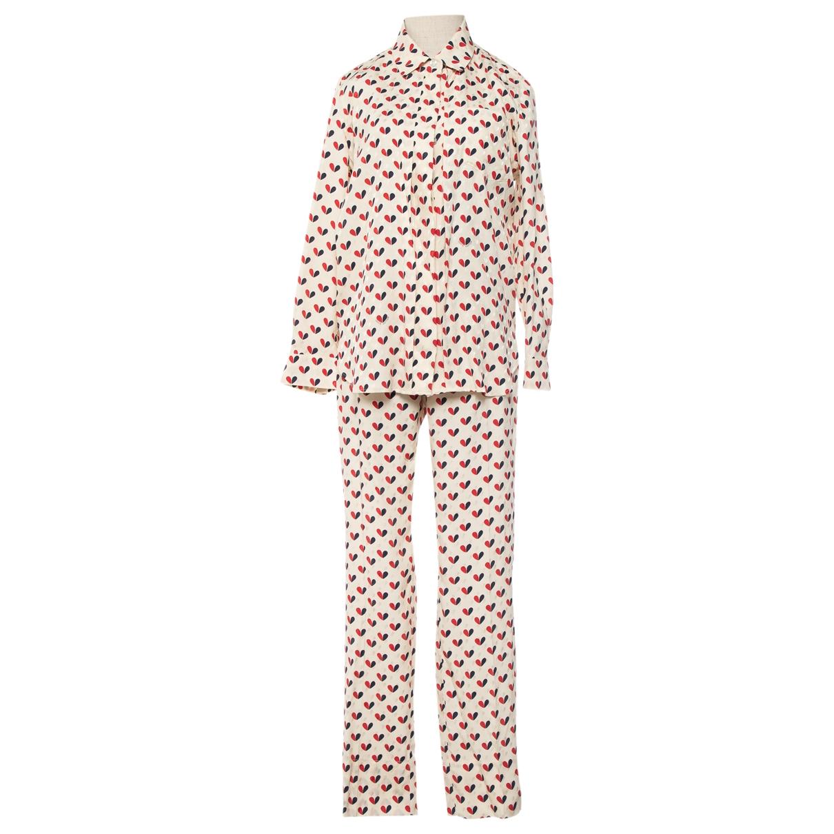 Louis Vuitton - Top   pour femme en soie - multicolore