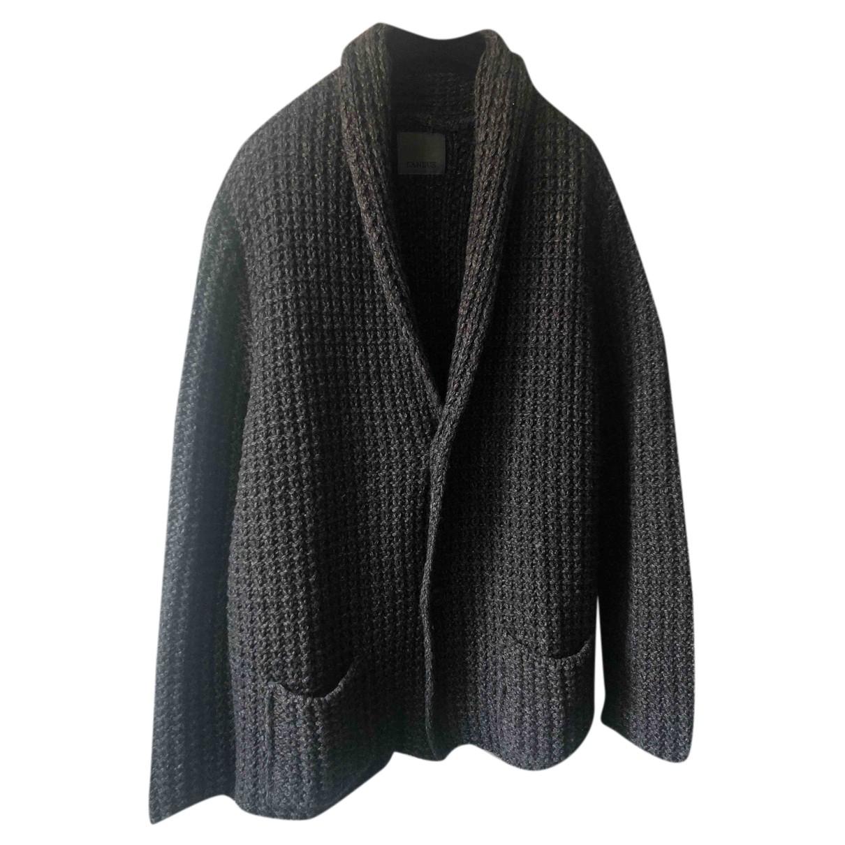 Laneus \N Pullover.Westen.Sweatshirts  in  Grau Wolle