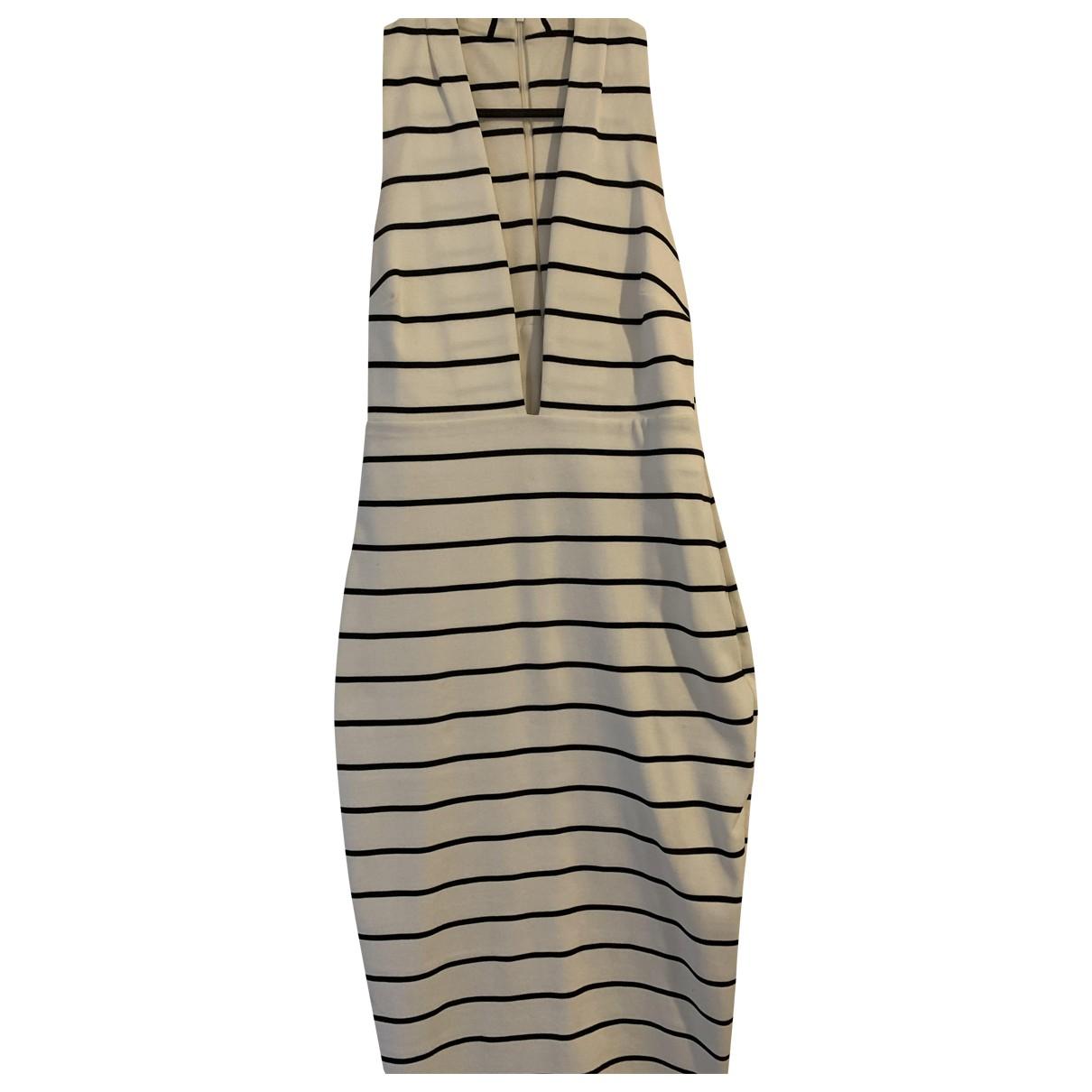 Bec & Bridge \N Kleid in  Weiss Polyester
