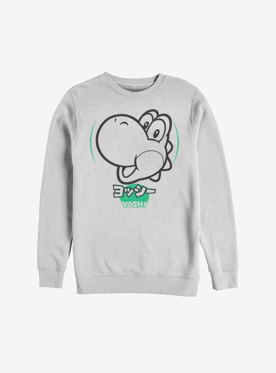 Nintendo Super Mario Yoshi Kanji Sweatshirt