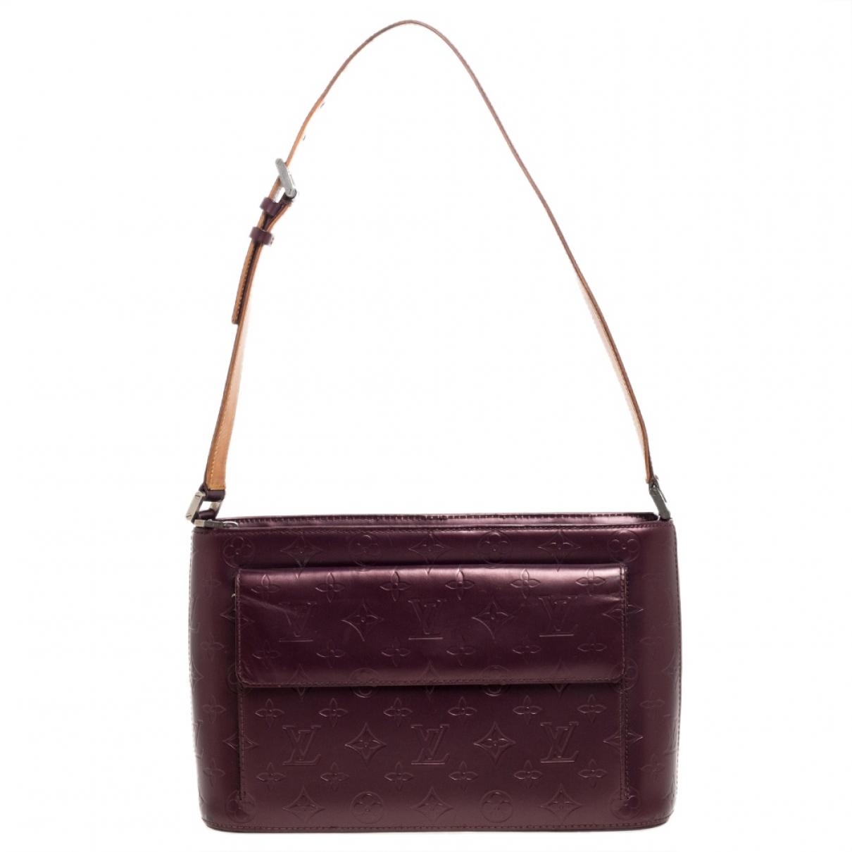 Louis Vuitton Allston Purple Leather handbag for Women N