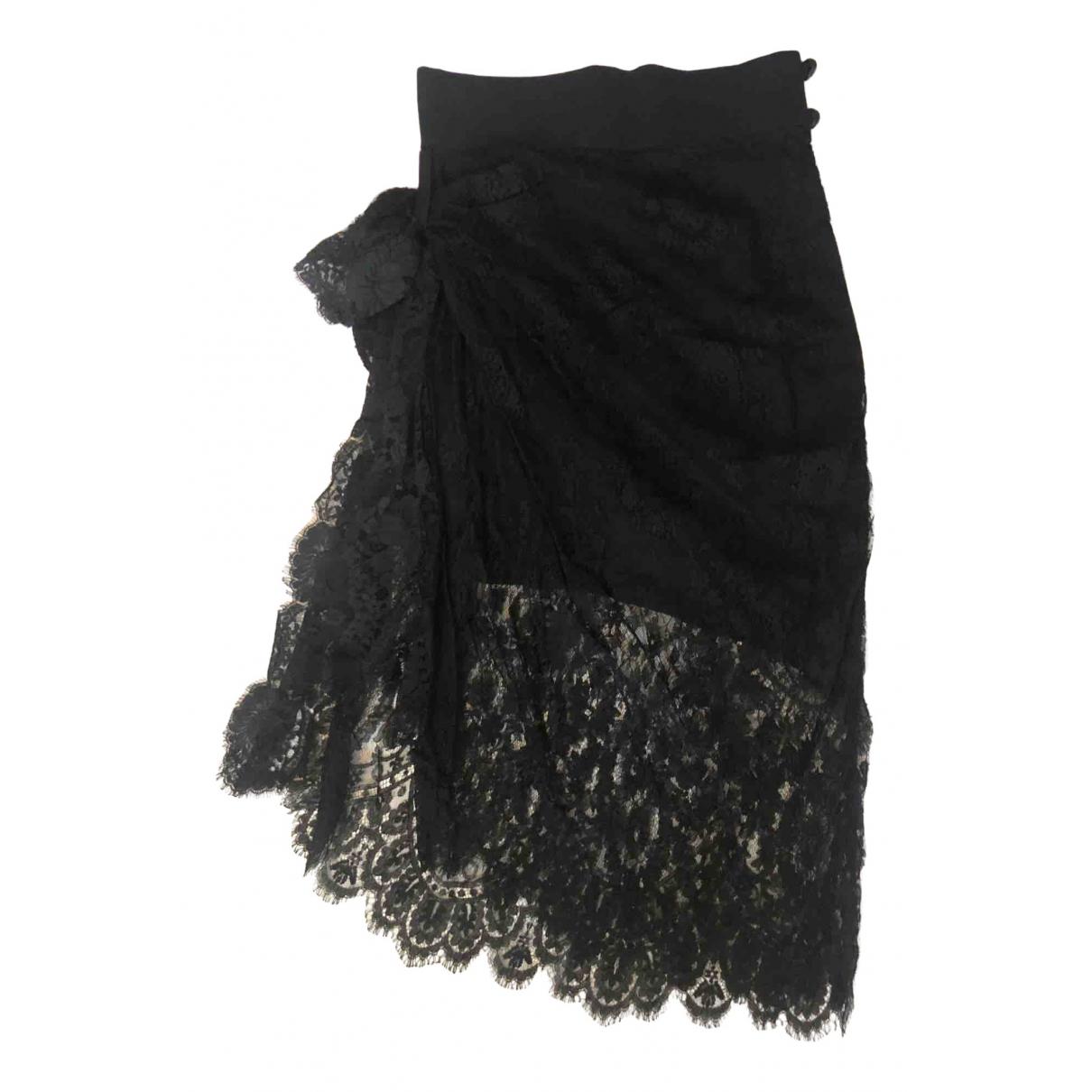 Christian Lacroix - Jupe   pour femme en soie - noir