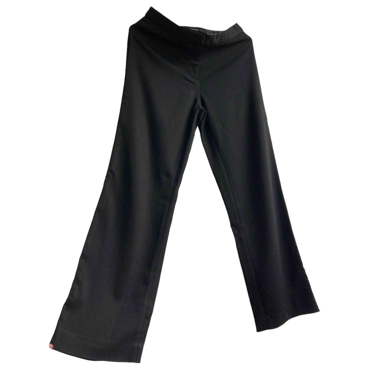 Versus N Black Trousers for Women M International