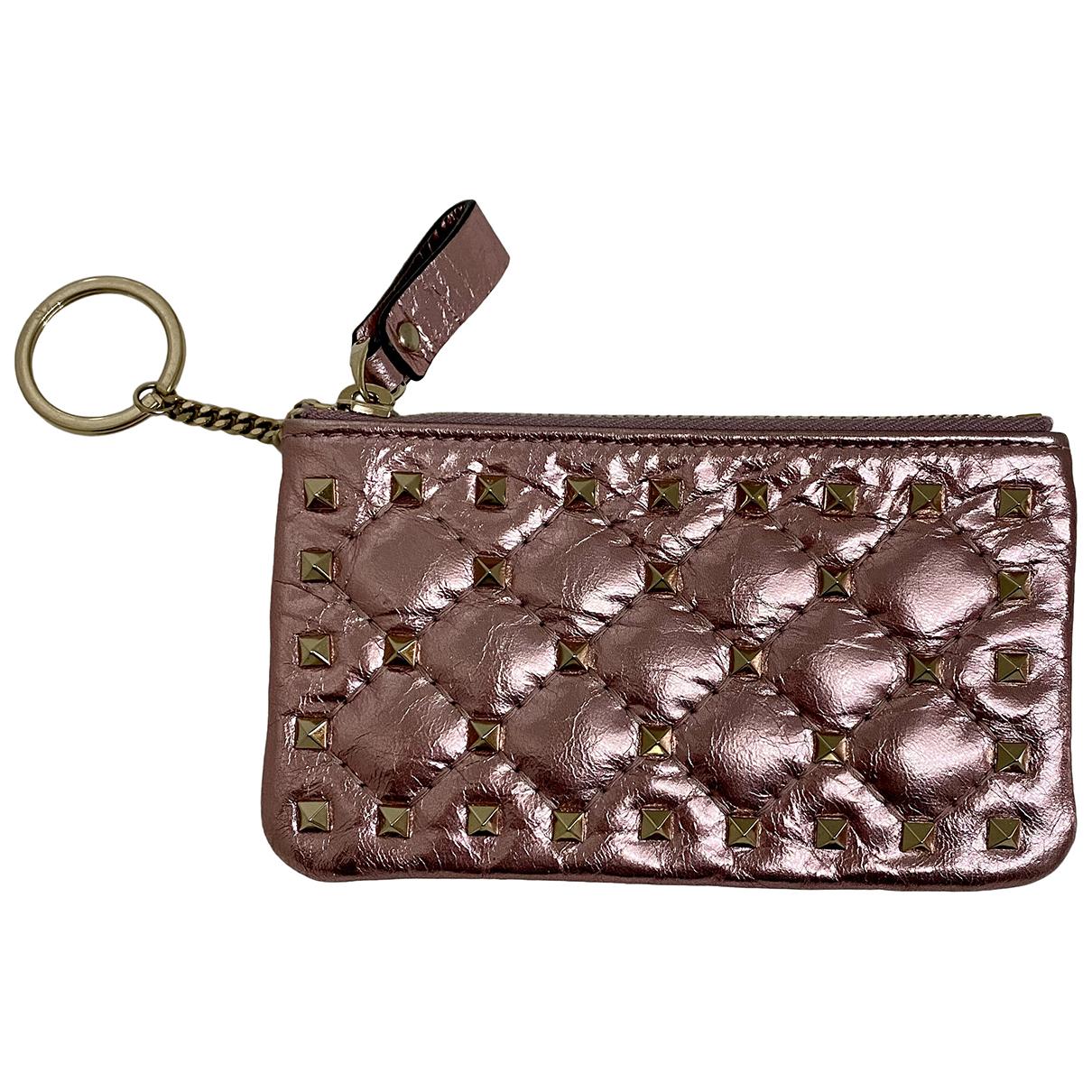 Valentino Garavani N Pink Leather Purses, wallet & cases for Women N