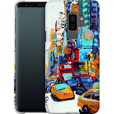 Samsung Galaxy S9 Plus Smartphone Huelle - Busboys Lament von Tom Christopher