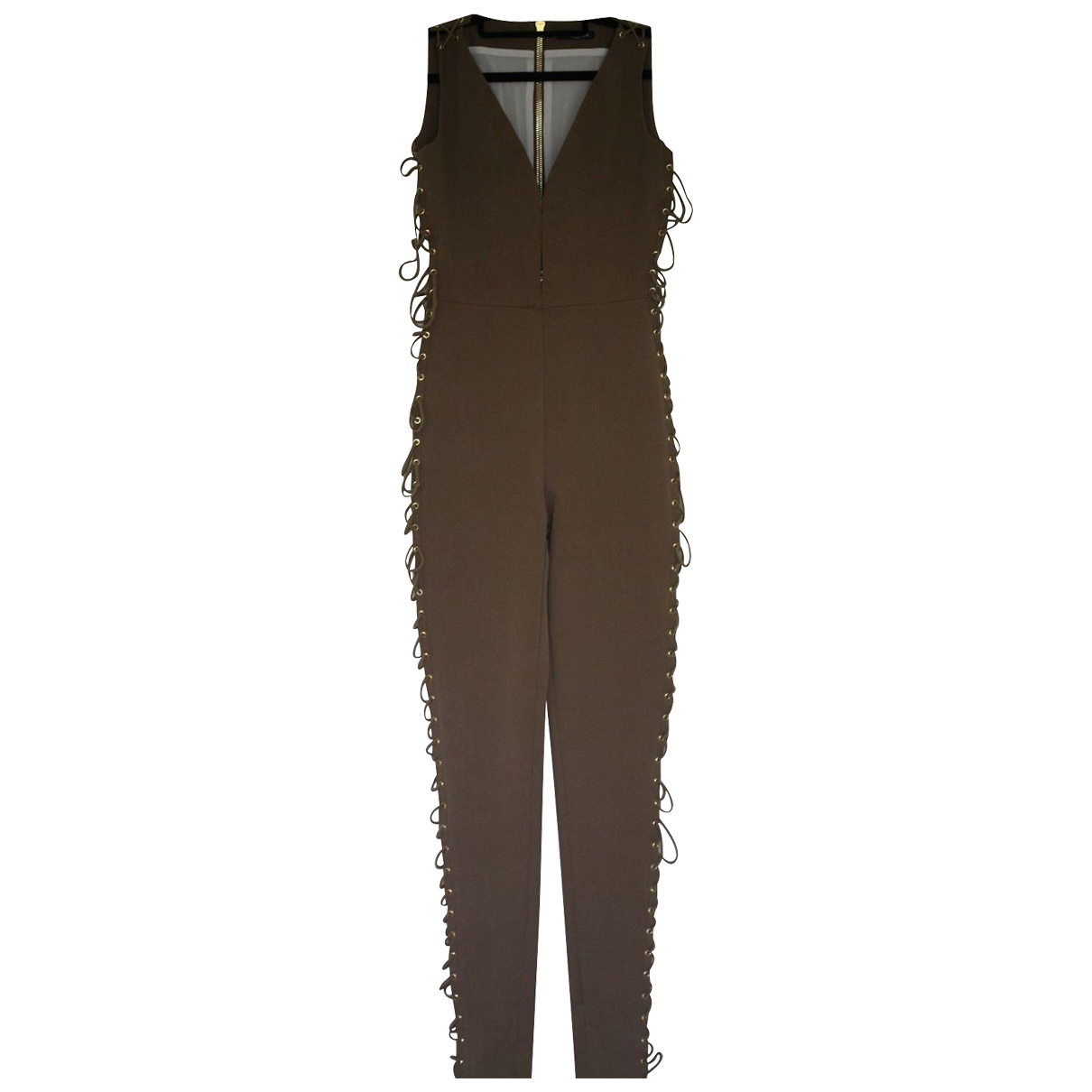Balmain N Green Cotton jumpsuit for Women 38 FR