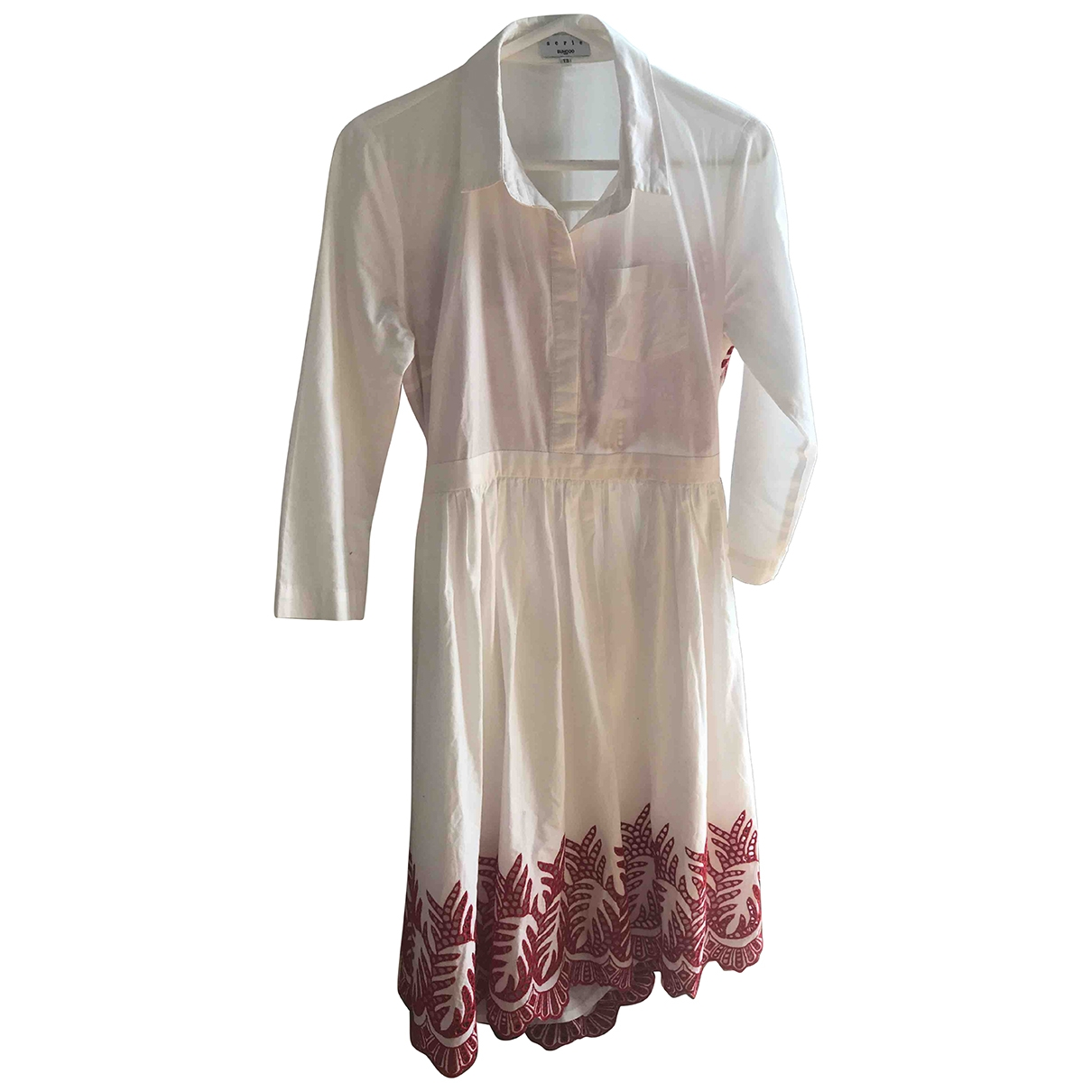Suncoo \N White Cotton dress for Women 3 0-5